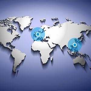 dexter Group - dexter Asia - wereldkaart